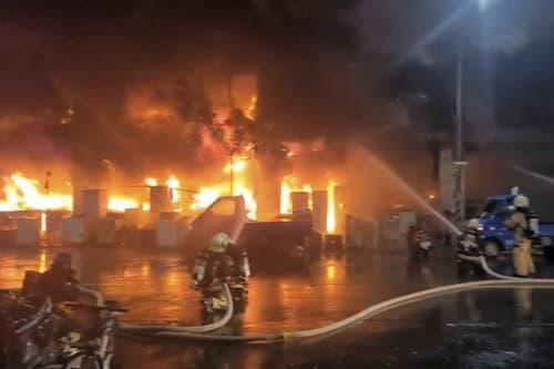 Požiar v Taiwane