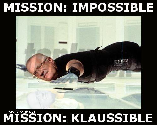 """Klaus a """"jeho"""" pero:"""