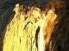 Detail na vodopád Horsetail
