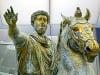 Jazdecká socha Marca Aurélia,