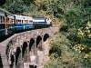 Železnica Kalka- Shimla, Horské