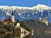 Ostrov a hrad, Bled,