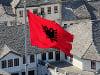 Albánska vlajka
