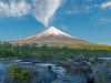 Vulkán Osorno v Čile