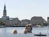 Kúpajúca sa žena, Hamburg,