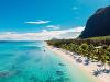 Pláž na Mauríciu