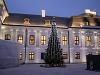 Vianočný stromček pred Prezidentským