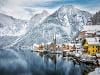 Snehom obsypaný Hallstatt