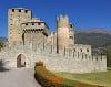 Hrad Fénis v Taliansku