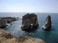 Pigeon Rocks Bejrút