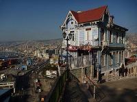 Originálne domy Valparaiso, Čile