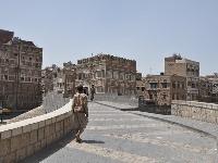 V meste Saná, Yemen