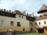 Nádvorie hradu