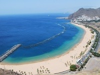 Pláž Las Teresitas, Tenerife,