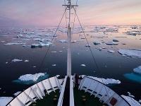 Arktický ohromujúci horizont