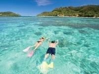 Koralový útes, ktorý súostrovie