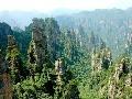 Čína, pohľad na skalné