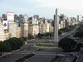 Obelisk v Buenos Aires