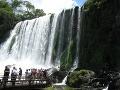 na argentínskej strane vodopádov