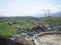 rímske ruiny divadla