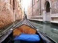 plavba v gondole kanálom