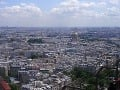 Výhľad z Eiffelovky smerom