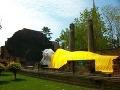 Ležiaci buddha v tzv.
