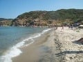 Čisté more, veľká pláž
