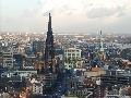 Hamburg z nadhľadu