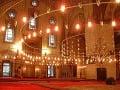 Vo vnútri Beyazit Mosque,
