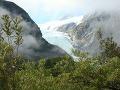Franz Jozef glacier: ľadovec