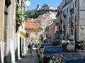 Uličky Lisabonu
