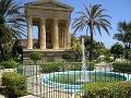 Barracca Gardens, Valetta, Malta