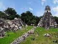 Tikal Mayské zrúcaniny, Guatemala