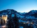 Zimný Gstaad, Švajčiarsko