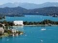 jazero Wörthersee, Korutánsko, Rakúsko