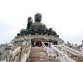 Socha obrovského Buddhu, ostrov
