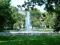 Fontána, park Plant, Krakov,