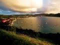 pohľad z Pigeon Island