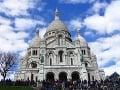 Bazilika Sacré-Cœur, Montmartre, Paríž
