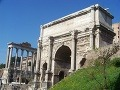 Oblúk Septímia Sever,Rímske fórum,