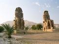 Menmonove kolosy, Luxor