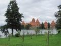 Trakai, Tehlový hrad ,