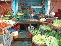 Trh so zeleninou, Dillí,