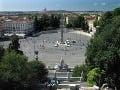 Piazza del Popolo, Rím