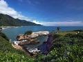 Východné pobrežie Taiwanu je