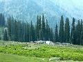 Život v osade, Kašmír,