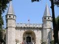 Brána pozdravov, Palác Topkapi,
