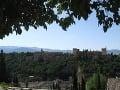 La Alhambra, Granada, Španielsko