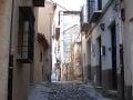 Ulica v Albaycíne, Granada,
